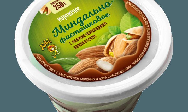 «Лева» </br>«Миндально-фисташковая паста и молочно-шоколадный»