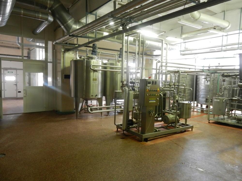 Аппаратное отделение для растворения сухих компонентов