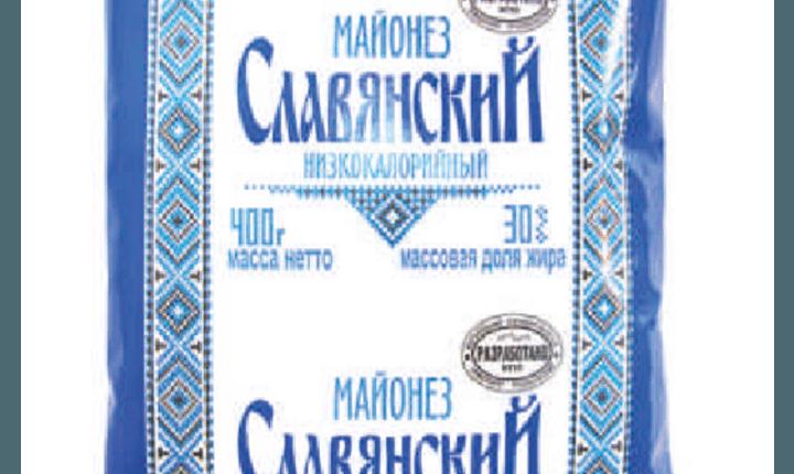 Майонезный соус «Славянский», низкокалорийный