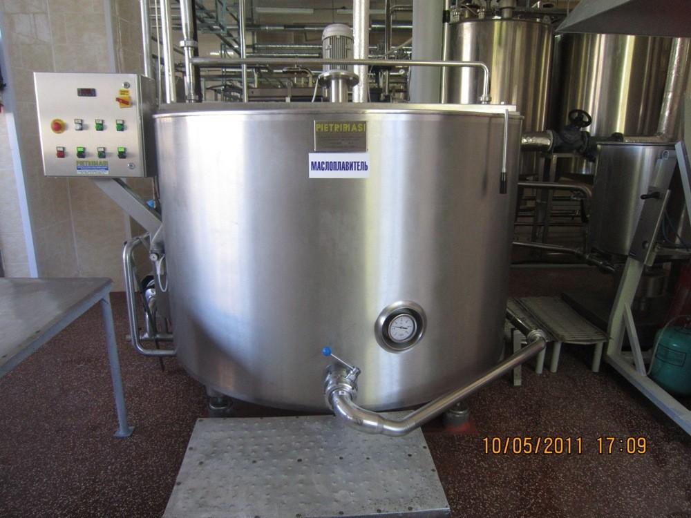 Маслоплавитель происходит плавление масла