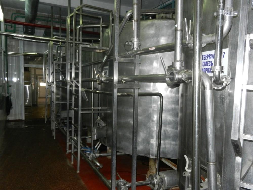 Резервуары для хранения смеси мороженого