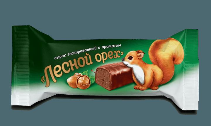 Сырок глазированный «Лесной орех», 18%